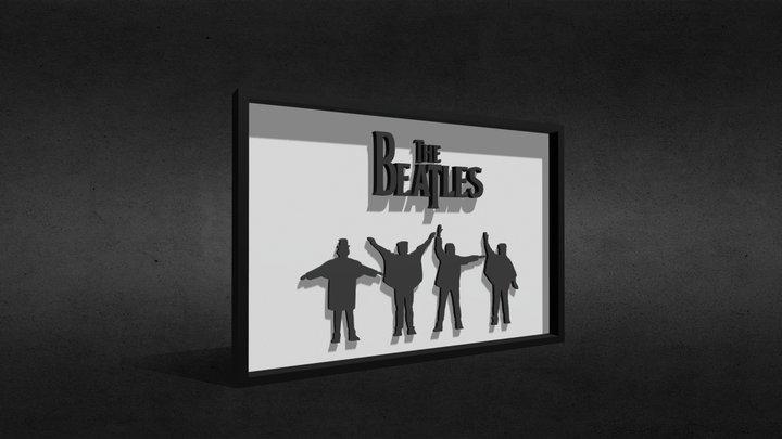 The Beatles 3D Model