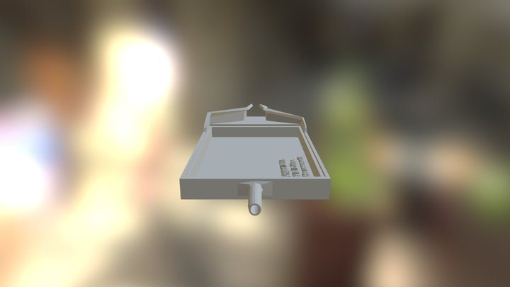 Fruit Fly Anesthesia unit 3D Model