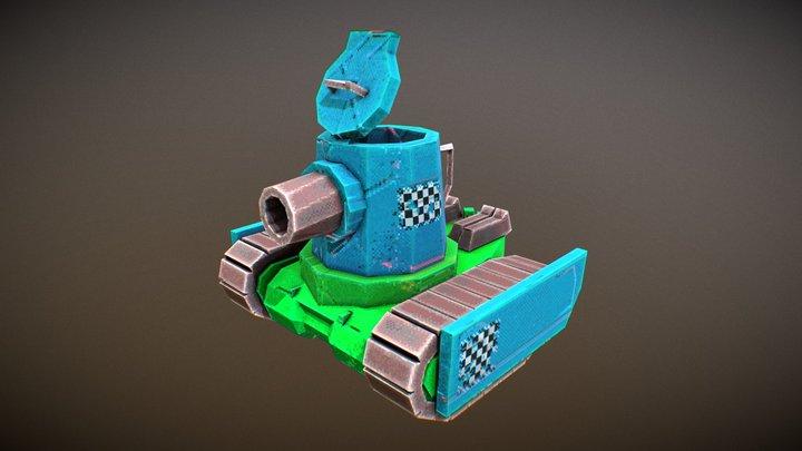 T-Pot Cromwell 3D Model