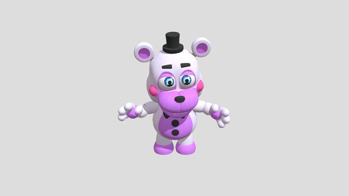 PC Computer - Five Nights at Freddys VR Help Wan 3D Model