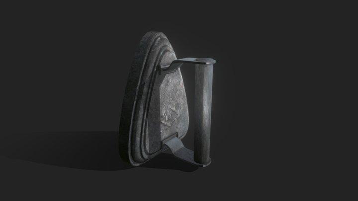 Iron (vintage) 3D Model