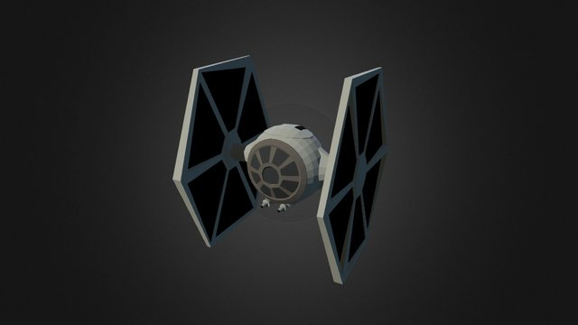 Tie Fighter (Star Wars Contest 2015) 3D Model