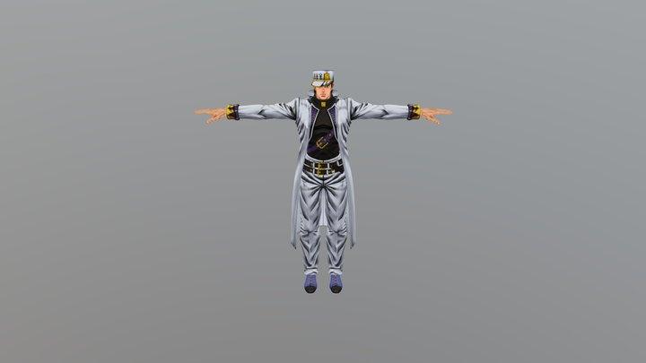 Jotaro Kujo 3D Model