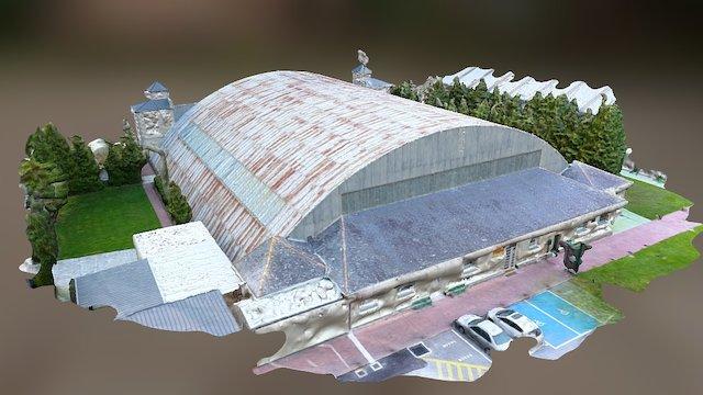 Hangar-1 Rozas 3D Model