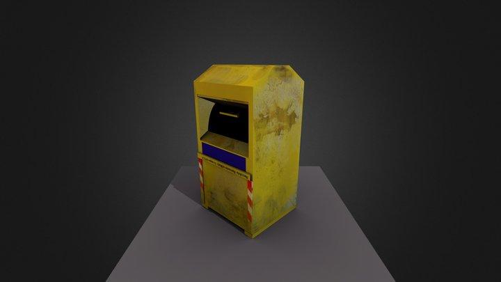 kleercontainer 3D Model