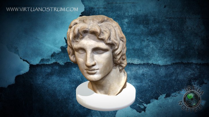 Bust of Alexander the Great 3D Model