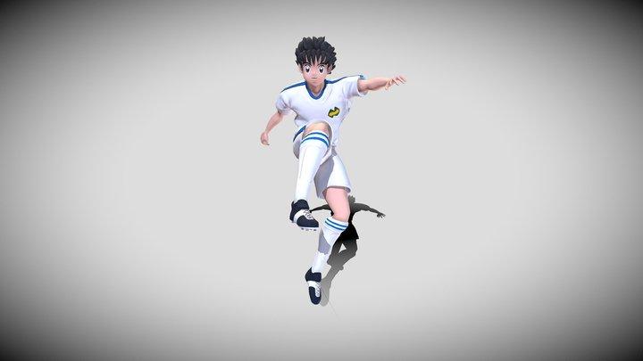 Captain Tsubasa 3D Model