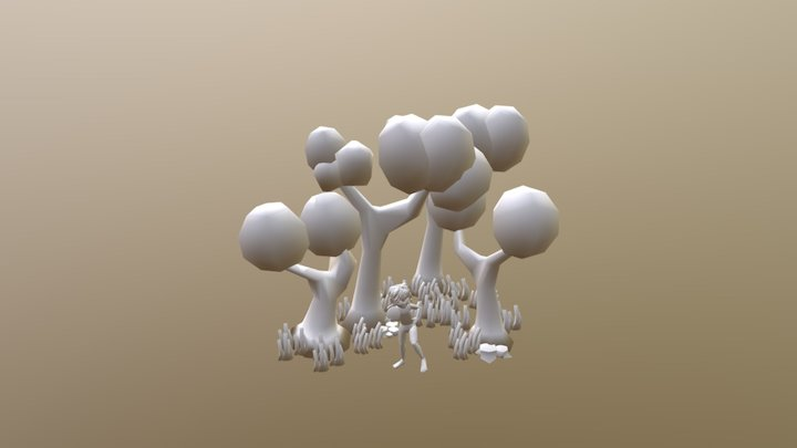 TestScene Frizbee DRAFT 3D Model