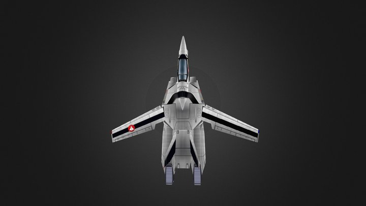 VF-1A Hikaru 3D Model