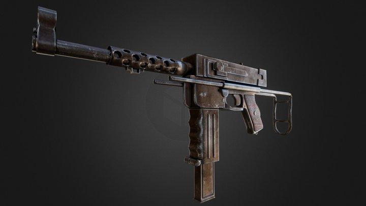 MAT-49 3D Model