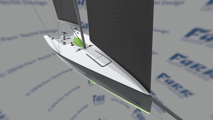 Farr Yacht Design #841: Offshore Fast 40+ 3D Model