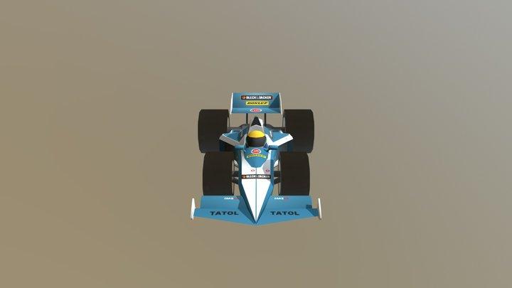 Brabham BT52 3D Model