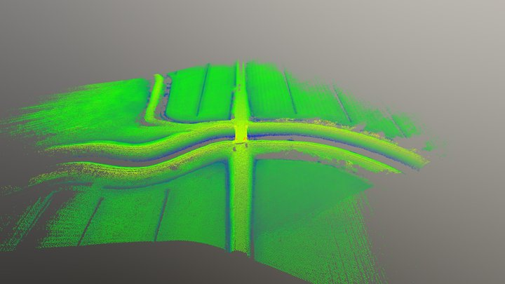 1 - S.Donà di Piave (VE) - Rilievo Lidar con APR 3D Model