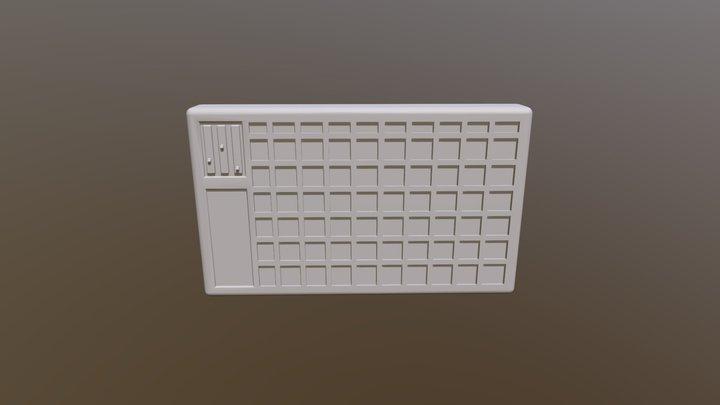 Reactive Wall Art 3D Model