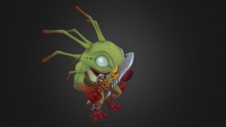 World of Warcraft Murloc Fan Art 3D Model