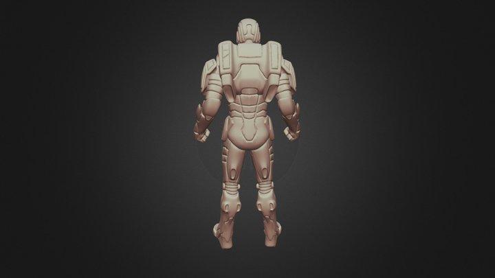 Ironman-gemini-printable-warmachine-batman- 3D Model