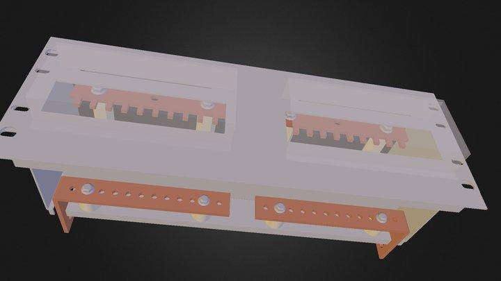 PDU Assembled 3D Model