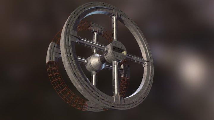 Space Station V (2001: A Space Odyssey) 3D Model