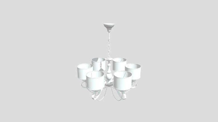 Люстра Maytoni H357-PL-06-BG 3D Model