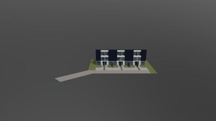 Sikorskiego - koncepcja 2 3D Model