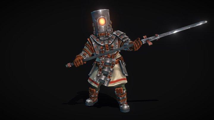 Diver Knight 3D Model
