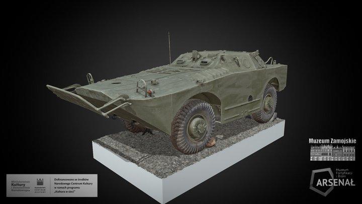 BRDM-1 3D Model