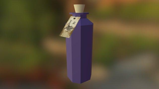 Drink Me Bottle 3D Model