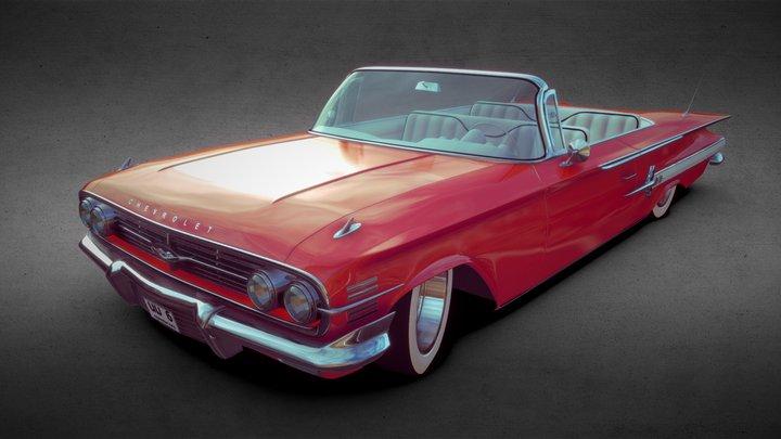 Chevrolet Impala 1960 3D Model