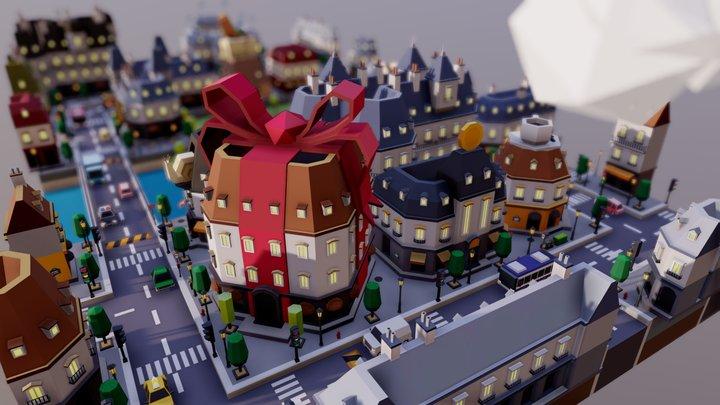 TARBO - CITY Pack 3D Model