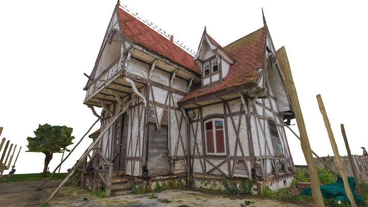 Casa Jacaranda - Parque Lota 3D Model