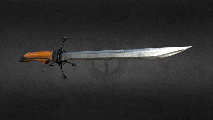Corvo's folding blade (Dishonored) 3D Model