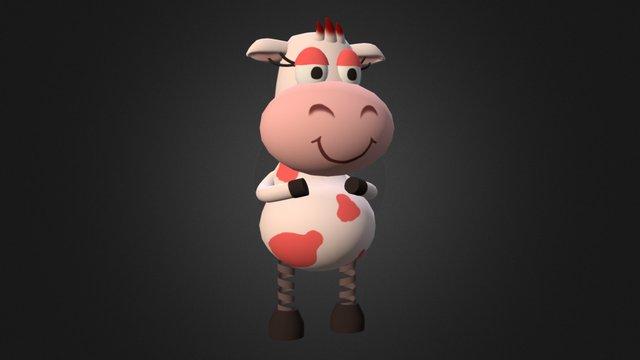 Toy Cow 3D Model