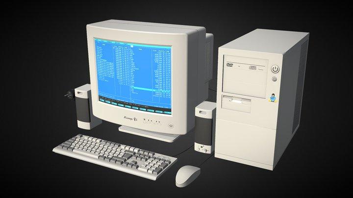 Old Comp 3D Model