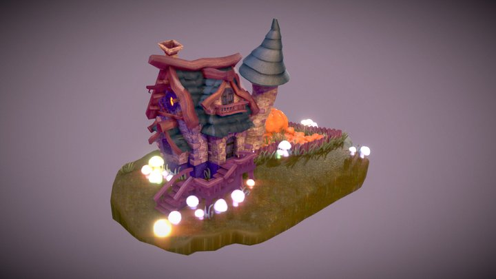 The Witch's House 3D Model