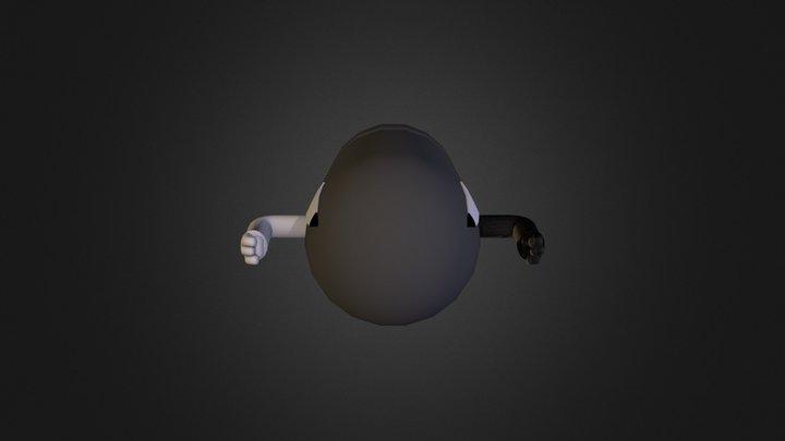 Bullet Bill 3D Model