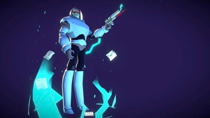 Victor Fries aka Mr. Freeze 3D Model