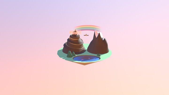 Aguilardo Background 3D Model