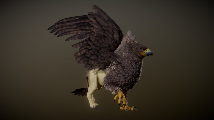 GRIFFON ANIMATIONS 3D Model