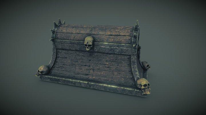 Skull Chest 3D Model