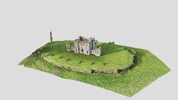 Castle, Castle Hill, North Devon 3D Model