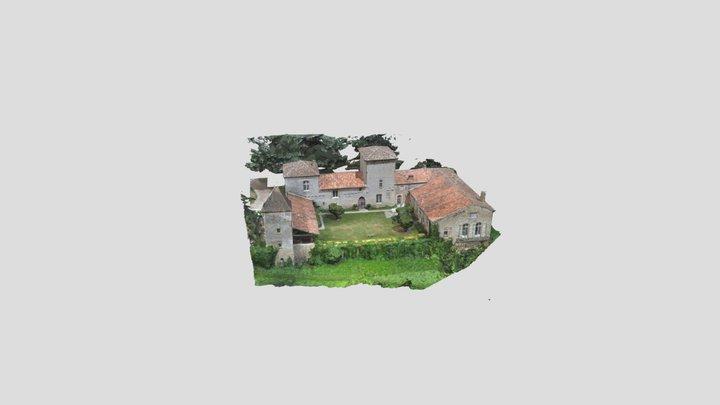 Chateau de Favols 3D Model