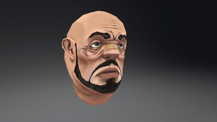 Joe Head 3D Model