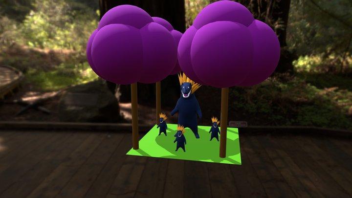 Pigletbears 3D Model