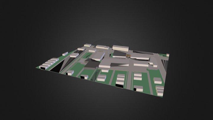 John's Ugly Building Fixed 3D Model