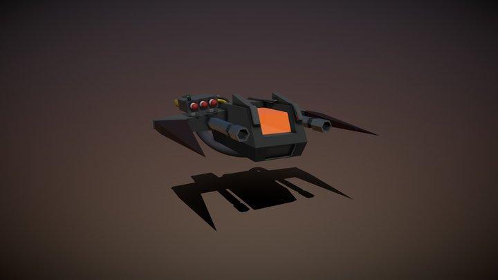 Flyer v2 3D Model