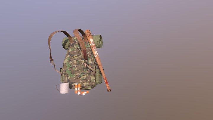 Дейлики XYZ _ Post-Apocalypse Inventory 3D Model
