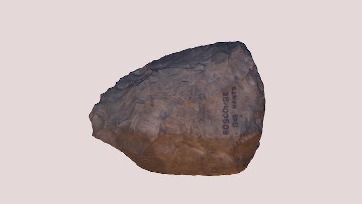 Neanderthal Hand Axe 3D Model