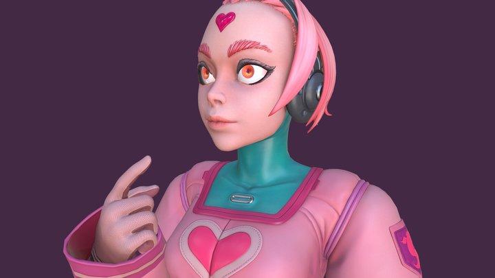 Candy Girl 2 3D Model