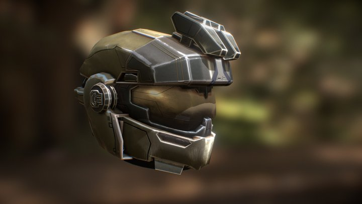 Jorge Helmet - Halo Reach 3D Model