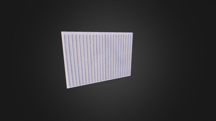 Radiator_A 3D Model